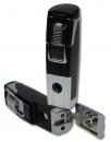 Tycoon Zigarrenfeuerzeug Robot Jet-Bohrer black