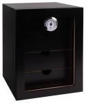 Humidorschrank Cabinet schwarz V-1350