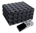 Cigar Oasis Ultra Design Humidor schwarz matt