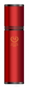 Myon-Paris Zigarren Alu Humidor Reise-Tubidor Rcing Edition rot