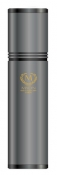 Myon-Paris Zigarren Alu Humidor Reise-Tubidor Rcing Edition perlgrau