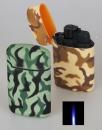 Set 2 Stk Jetflamme-Feuerzeuge - Sturmfeuerzeuge Camouflage