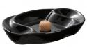 2er Pfeifenascher Keramik schwarz