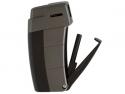 Xikar Pfeifenfeuerzeug Recource gunmetal-schwarz