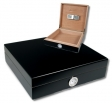 Office Humidor Hygro Black 25