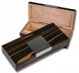 AZZARO-Paris Reisehumidor-Zigarrenbox