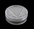 Humidor-Polymerbefeuchter rund 5,3x2,0cm transparent