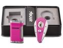 Xikar Spring Edition Allume Double Jet Feuerzeug und Xi 1 Cutter in Pink