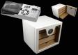 Cigar Oasis Ultra Sonderangebot Humidorschrank weiss