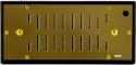 Adorini Zigarren Humidor Befeuchter Deluxe gold