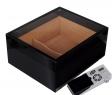 Cigar Oasis Ultra Humidor Pianolack Acrylglas Black