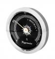 Front-Hygrometer Einbau 35-45mm schwarz