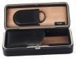 Zigarrenetui-Reisehumidor Zedernholz mit Zigarrencutter