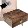Cigar Oasis Ultra 2.0 Bubinga Antik Finish Humidor V-580