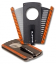 Bugatti Zigarrencutter Carbon Fibre Orange