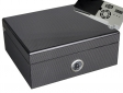 Cigar Oasis Ultra Humidor Carbon-Finish Pianolack V-550