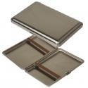 Duggert Zigarettenetui - Zigarilloetui Stahl vernickelt 118mm Made in Germany