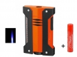 Dupont Feuerzeug Defi Extreme schwarz-orange Jet