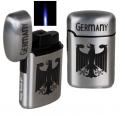 Jetflamme-Feuerzeug - Sturmfeuerzeug Germany metal gebürstet 3D Druck