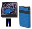 Eurojet Feuerzeug Turbo blau