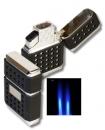 Tycoon Dots Doppel Jet Feuerzeug black