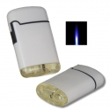 Jetflamme-Feuerzeug - Sturmfeuerzeug white