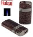 Hadson Feuerzeug Jetflamme Hero Wooden Lack
