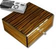 Cigar Oasis Howard Miller Humidor Ebony V-570