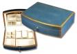 Howard Miller Schmuckschatulle shagreen plattern Klavierlack Kristallspiegel
