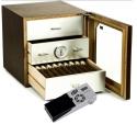 Cigar Oasis Ultra 2.0 Adorini Humidor Chianti walnuss-Alu medium deluxe V-1060