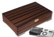 Cigar Oasis Ultra 2.0 Macassar Humidor mit Metallfüßen V-350