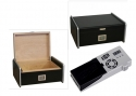 Cigar Oasis Ultra 2.0 Designhumidor silver-black digital V-750