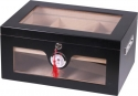 Edition 2.0 Black Wonderful Kristallglas Humidor V-1320