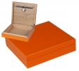 Office Humidor Orange Polymerbefeuchter