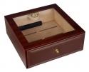 Designhumidor Wooden mit Schublade selbstregulierend V-550