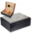 Black Antik Finish Humidor V-375 Polymerbefeuchter