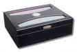 Black-Design-Humidor UV-Schutz Kristallglas V-815 Polymerbefeuchter