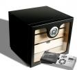 Cigar Oasis Ultra 2.0 Sonderangebot Black Humidorschrank 100