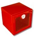 Premium Red Humidorschrank Klavierlack, UV-Schutz, Sorbbefeuchter