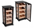 Black Humidor Gastrovitrine Imperial Polymerbfeuchter