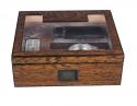 PASSATORE Luxus-Humidor-Set Ironwood-Design hi-gloss