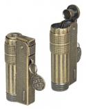 Limited Edition IMCO Feuerzeug Super-Triplex Oil antik-gold Schriftzug