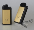 IMCO Pfeifenfeuerzeug Chic 4 Pipe Flint Pfeifenbesteck Gold