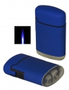 Jetflamme-Feuerzeug - Sturmfeuerzeug blue