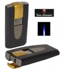 Tonino Lamborghini Feuerzeug Hungaro schwarz-gold