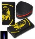 Tonino Lamborghini Feuerzeug Toro gelb schwarz
