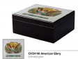 Lotus Humidor Pianolack Limited Edition 3D Cuban Vista Collection American Glory