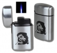 Che Guevara Jetflamme-Feuerzeug - Sturmfeuerzeug metal gebürstet