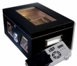 Cigar Oasis Ultra 2.0 Black Wonderful Kristallglas Humidor V-1320