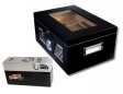 Cigar Oasis EXCEL Black Wonderful Kristallglas Humidor V-1320